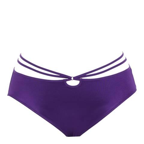 Elomi Purple Bijou Flirt Brief