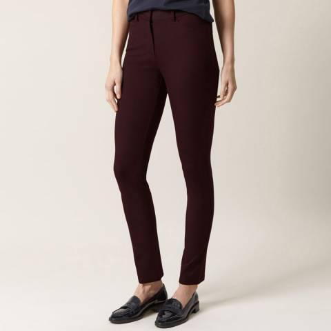 Hobbs London Dark Plum Amanda Jeans