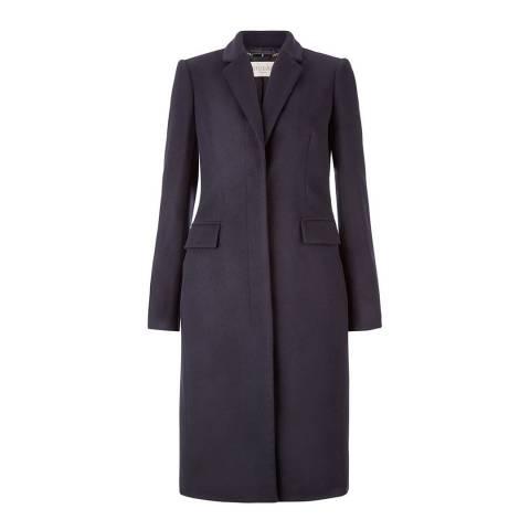 Hobbs London Navy Nina Coat