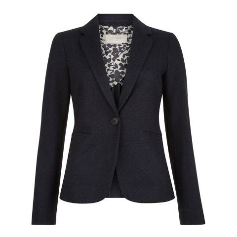 Hobbs London Navy Joella Jacket