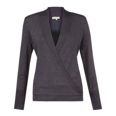 Hobbs London Dark Silver Reena Sweater