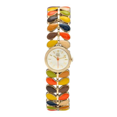 Orla Kiely Laurel Watch Multi Stem