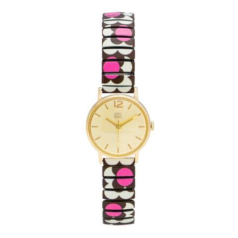 Orla Kiely Flower Pop Watch