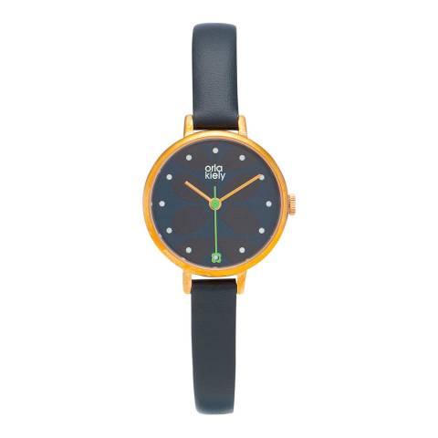 Orla Kiely Navy Ivy Watch
