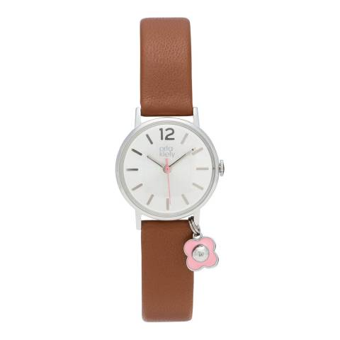 Orla Kiely Tan Solveig Charm Watch