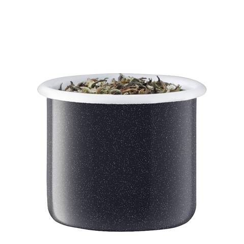 LSA Pepper Black Utility Container & Ash Lid