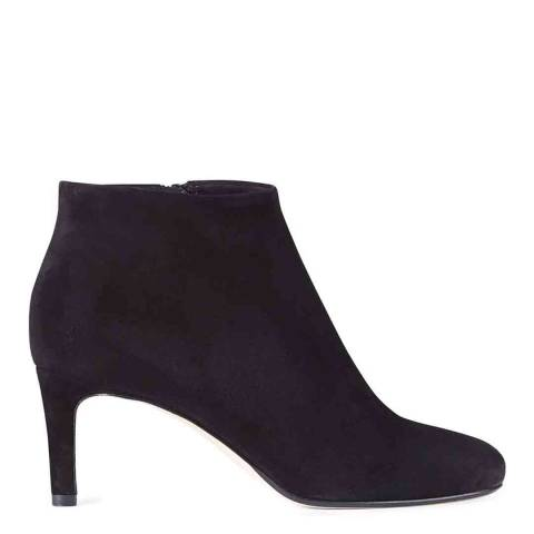 Hobbs London Black Suede Lizzie Ankle Boots