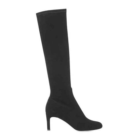 Hobbs London Black Sophia Suede Knee Boots