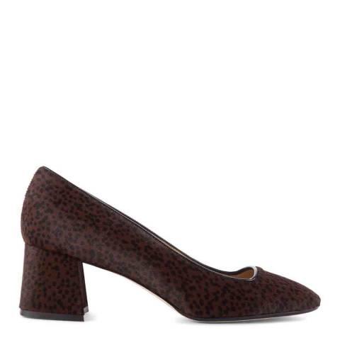 Hobbs London Brown & Black Georgia Court Shoes