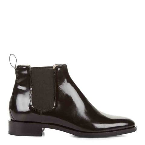 Hobbs London Black Wren Leather Ankle Boots