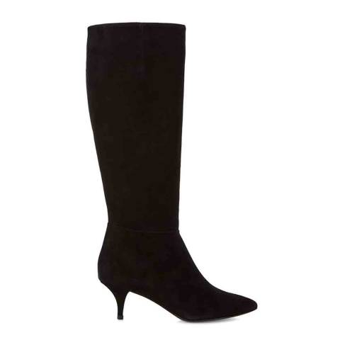 Hobbs London Black Suede Freya Long Boots