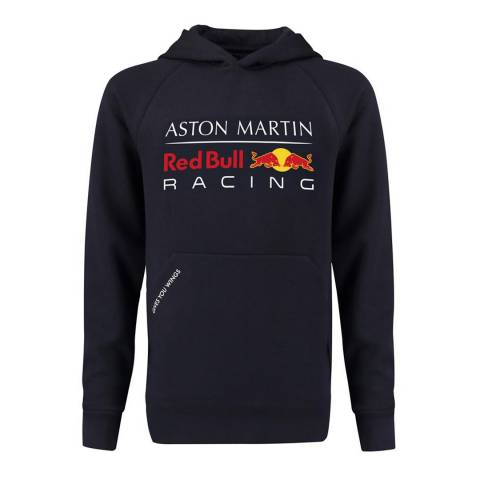 red bull racing navy aston martin pull over hoodie brandalley. Black Bedroom Furniture Sets. Home Design Ideas