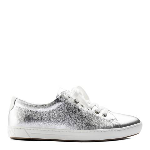 Birkenstock Silver Leather Arran Sporty Sneakers