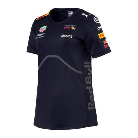 Red Bull Racing Women's Navy Team Tee