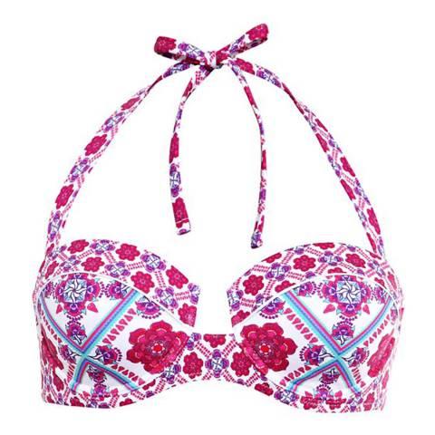 Paolita Pink Gobi Bikini Top