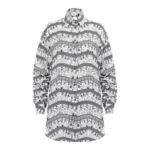 Paolita Black/White Catrina Shirt