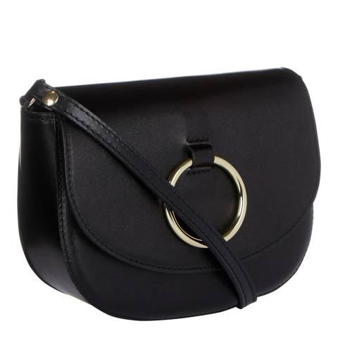 Giorgio Costa Black Cross Body Ring Bag