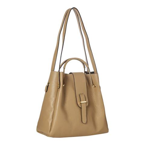 Giorgio Costa Taupe Top handle / Shoulder Bag