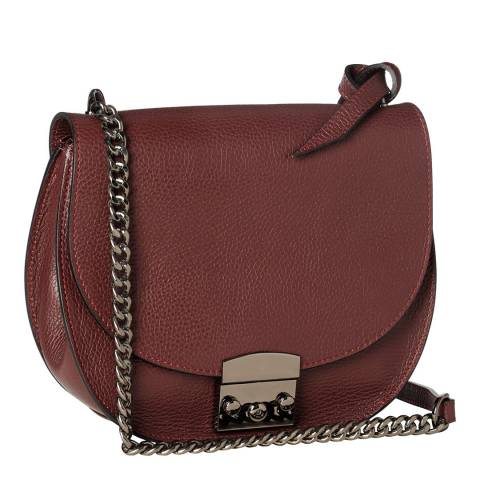 Krole Wine Cross Body / Shoulder Leather Bag