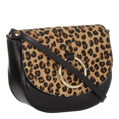 Giorgio Costa Leopard Crossbody Bag