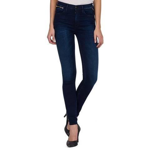 Replay Indigo Zackie Skinny Fit Jeans