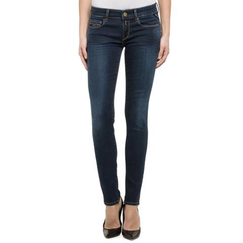 Replay Deep Indigo Skinny Jeans