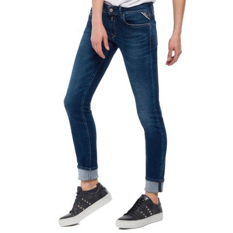 Replay Indigo Wash Luz Skinny Jeans