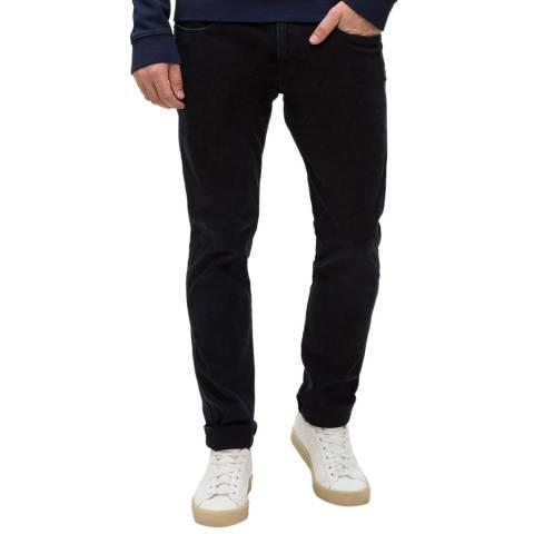 Replay Black Anbass Slim Stretch Jeans