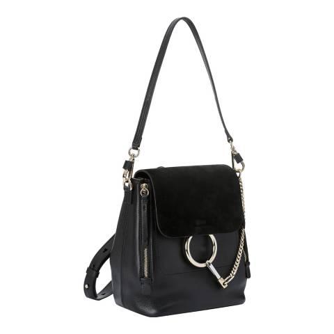 Chloe Black Small Faye Backpack
