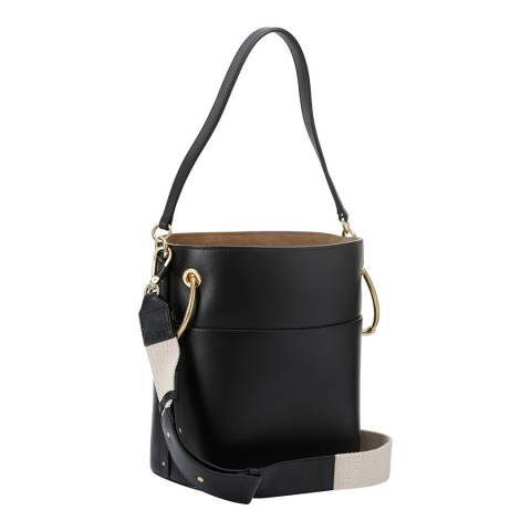 Chloe Black Medium Roy Bucket Bag