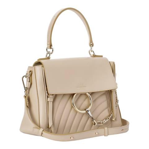 Chloe Pearl Beige Small Faye Day Shoulder Bag