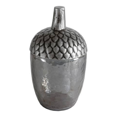 Gallery Silver Canada Grey Lustre Acorn Jar