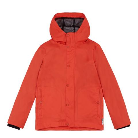 Hunter Kids Lightweight Orange Rubberised Jacket