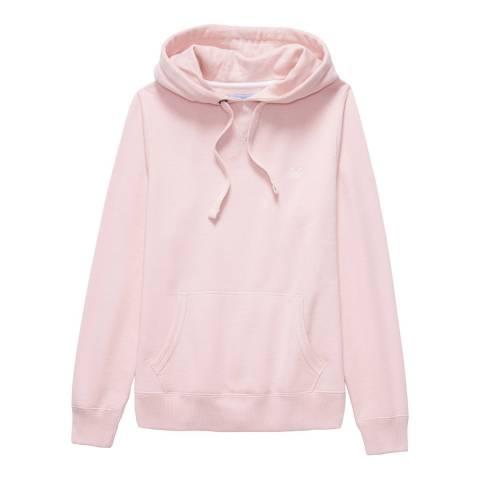 Crew Clothing Pink Crew Logo Hoody
