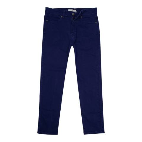 Crew Clothing Navy Crop Trousers