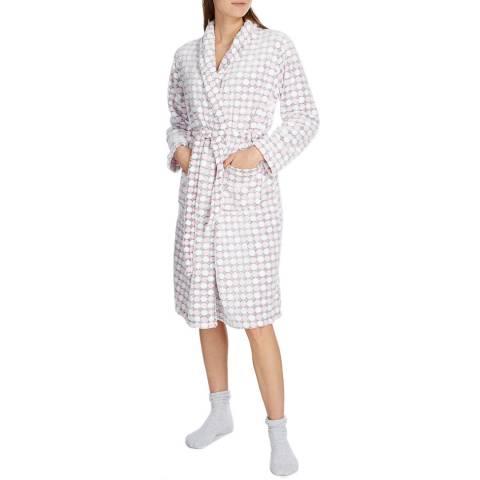 Cottonreal Artisan Circle MicroFleece Shawl Collar Robes