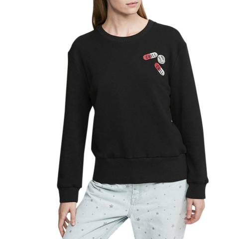 Zoe Karssen Moonless Night Cropped Fit Sweat
