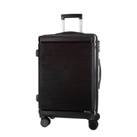 Platinium Black Redhill 8 Wheel Suitcase 66cm