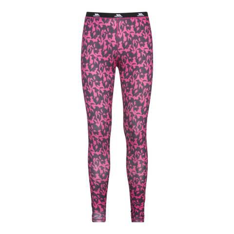 Trespass Women's Pink Soar Base Layer Trousers
