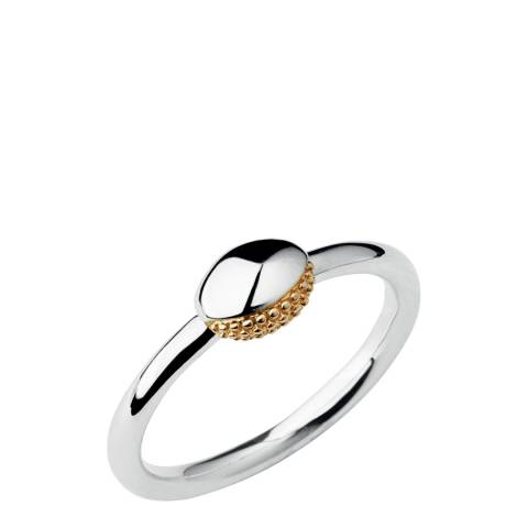 Links of London Yellow Gold Masquarade Oval Ring