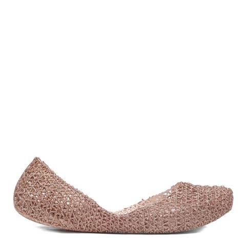 Melissa + Campana Rose Campana Papel Glitter Shoe