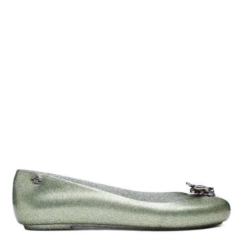 Vivienne Westwood for Melissa Grass Bee Glitter Vivienne Westwood for Melissa Love Flat pumps