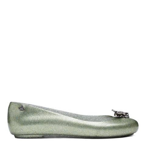 Grass Bee Glitter Vivienne Westwood for Melissa Love Flat ...