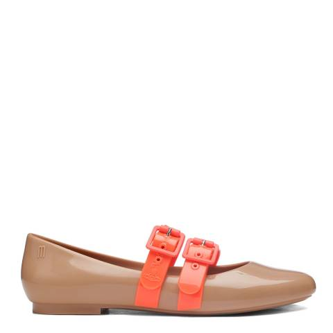 Vivienne Westwood for Melissa Camel Contrast Vivienne Westwood for Melissa Doll Flat Shoes