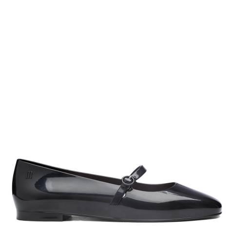 Melissa Black Believe Ballet Flat Shoes
