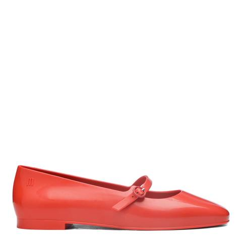 Melissa Red Believe Ballet Flat Shoes
