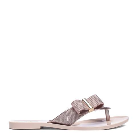 Melissa + Jason Wu Rose Melissa x Jason Wu Girl Chrome Flat Sandals