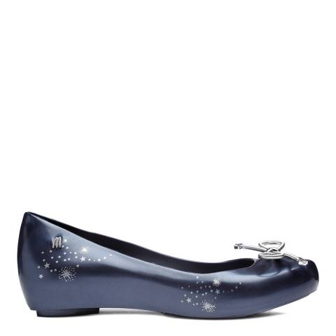 Melissa Midnight Ultragirl Elements Flat Ballet Pumps