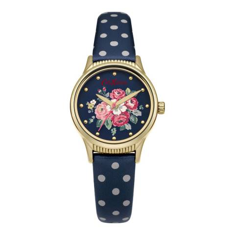 Cath Kidston Navy Spot Forest Bunch Strap Watch