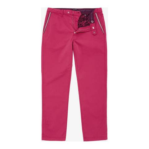 Ted Baker Pink Golftro Water-Repellent Chinos